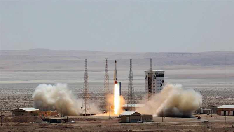 Iran successfully tested a rocket that can deliver satellites into orbit in July [AFP]