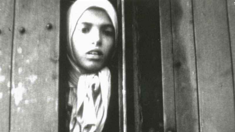 Anna Maria 'Settela' Steinbach was 10 when the photo was taken. Three months later she was killed at Auschwitz concentration camp [Westerbork film shot by Rudolf Breslauer, 1944, NIOD]
