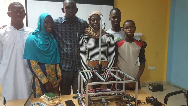 Blocked Gambian students get United States visas for robot Olympics