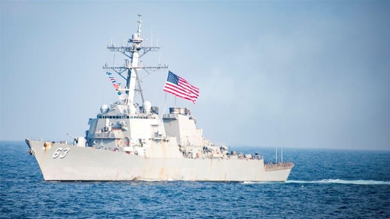 China US Warship Near Island A Serious Provocation