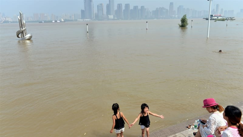 At least 56 dead in horrific China floods