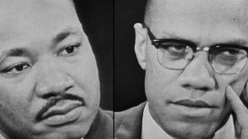 Listening To Side Of Martin Luther King >> Malcolm X And Martin Luther King Usa Al Jazeera