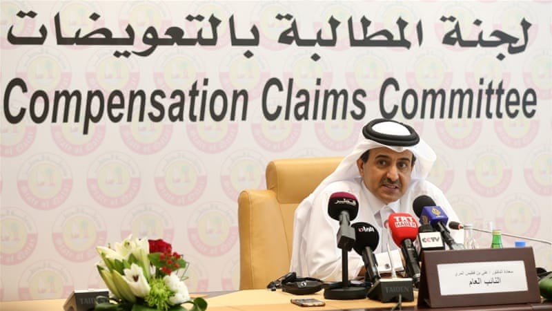 Qatar to seek compensation for damages from blockade
