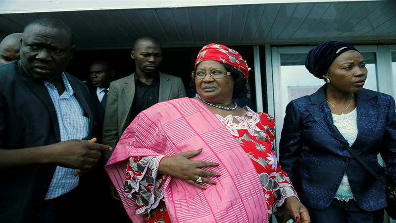 Former Malawian President Joyce Banda is ready to be arrested