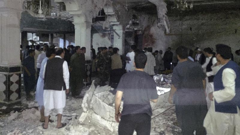 Mosque attack afghanistan