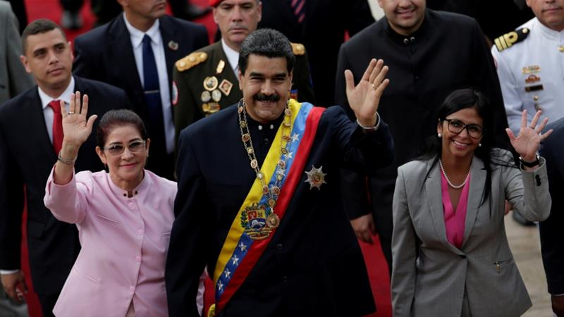 Maduro has faced growing opposition over the controversial new Constituent Assembly [Ueslei Marcelino/Reuters]
