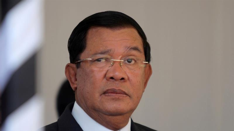 Cambodia's prime minister on Friday issued a six-day ultimatum to Laos to pull back troops
