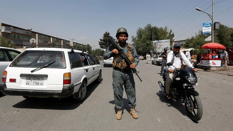 Gunfire erupts in Afghan governor's compound after meeting with USA  commander