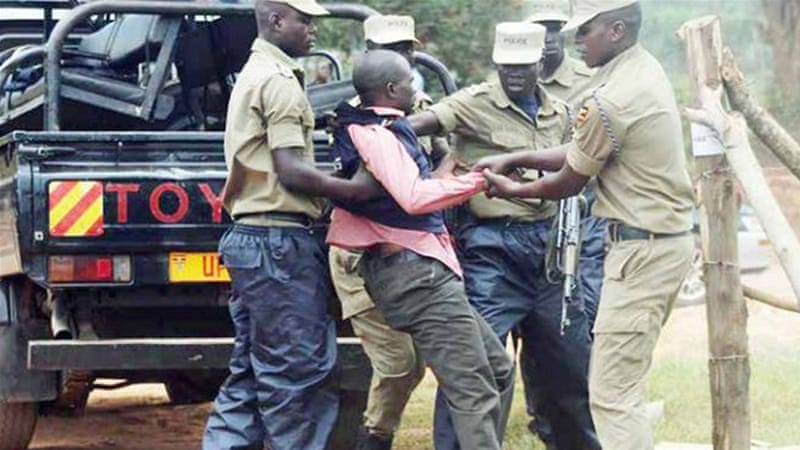 Police vs the press in Uganda