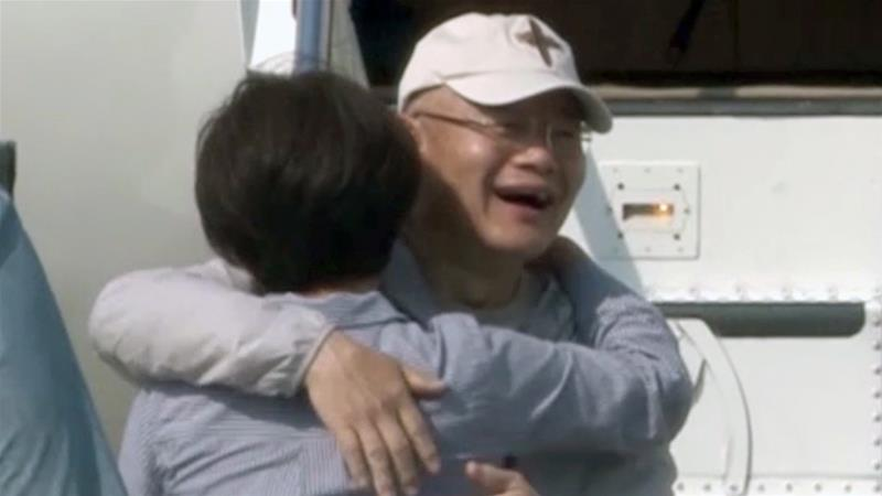 Canadian pastor returns home after release from N.Korean prison