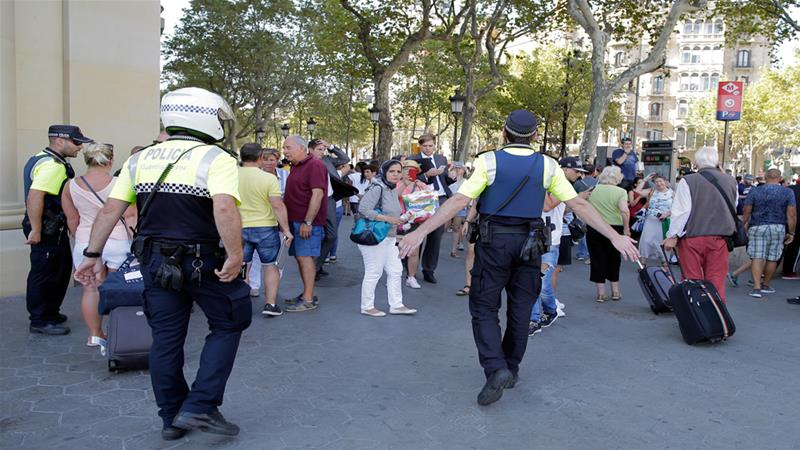 Barcelona suspect tells court bigger attack was planned