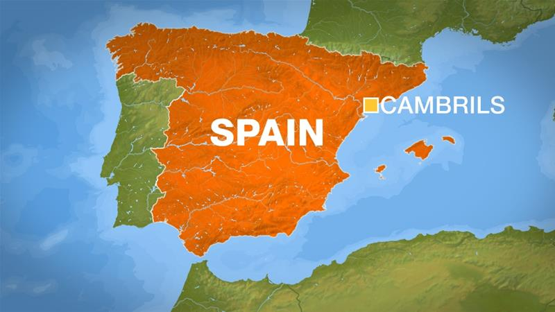 Map Of Spain Near Barcelona.Police Kill Terrorists In Cambrils Near Barcelona Spain News