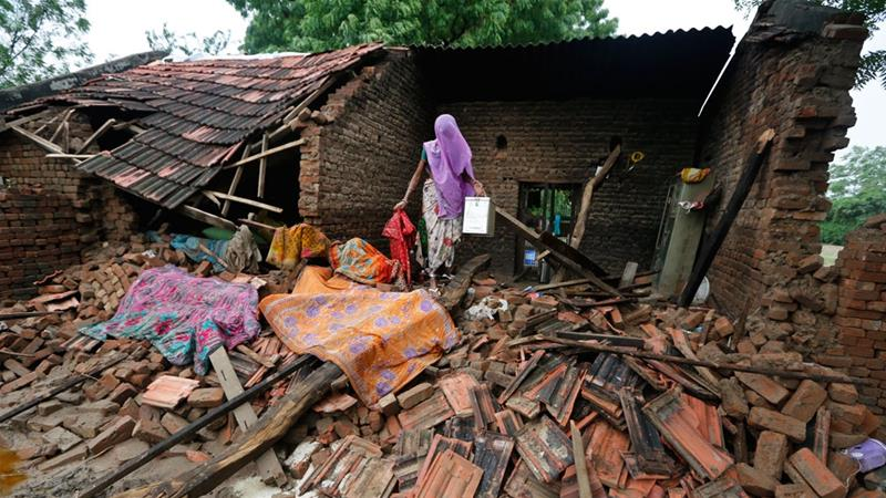 At least 700 died in flooding in South Asia
