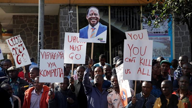 Kenya Opposition Files Challenge Over Election Results