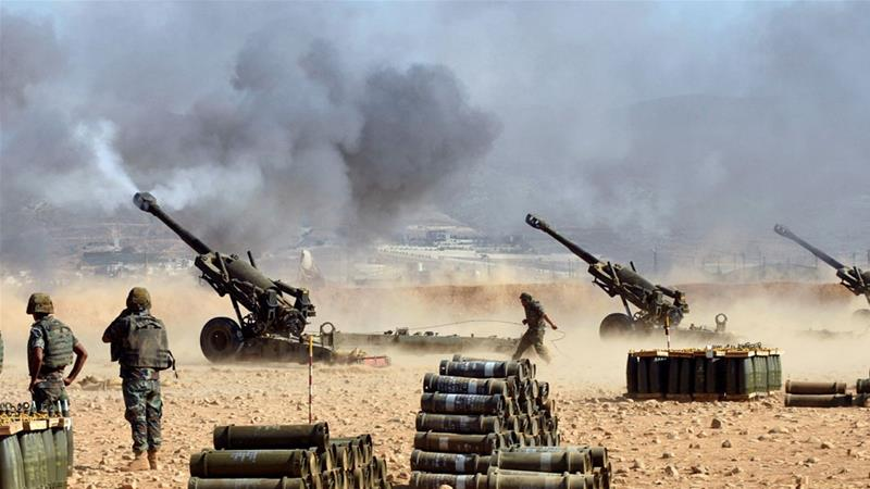 Offensives target ISIL on Lebanon-Syria border