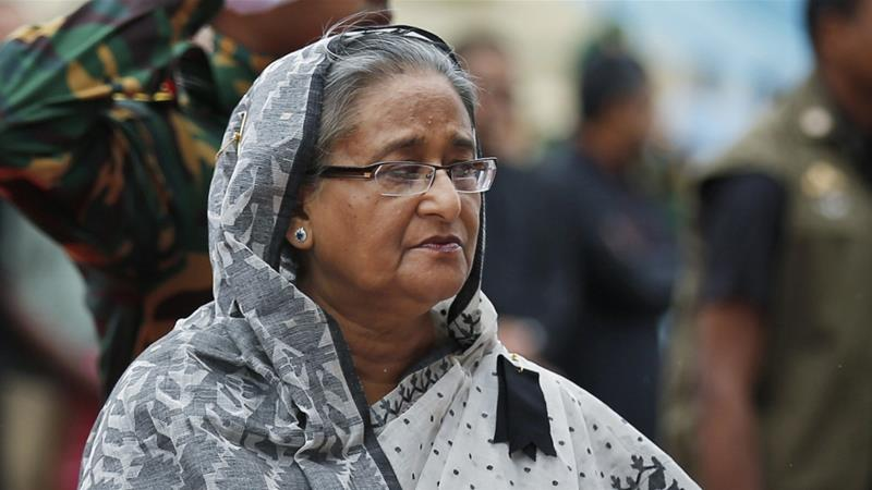 Hasina government faces allegations of a concerted persecution of its opponents [The Associated Press]