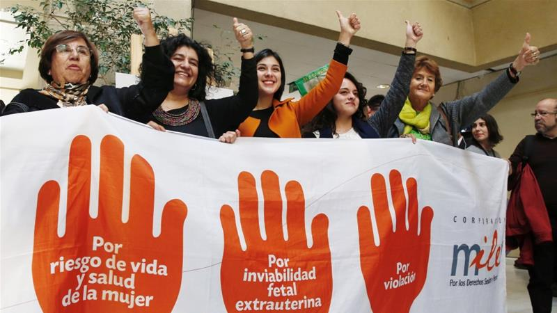Chile court lifts complete ban on abortion