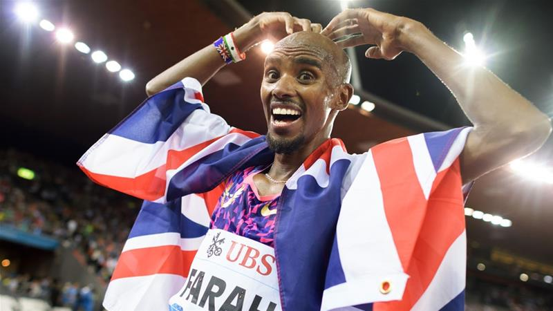 Farah won 10 consecutive global titles before losing the World Championships earlier this month [Fabrice Coffrini/AFP]