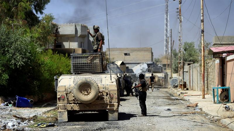 Iraq forces retake 3rd Tal Afar neighborhood from IS