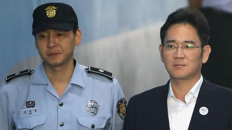 Samsung heir Lee Jae-yong found guilty of corruption