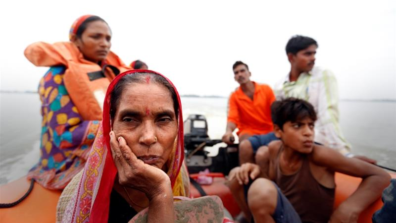South Asia monsoon flooding kills 1200, displaces millions
