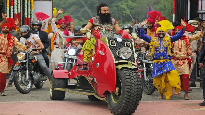 Who Is Gurmeet Ram Rahim Singh India Al Jazeera