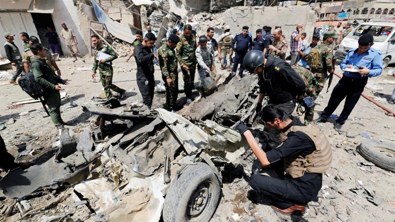 Auto bomb at busy Shia neighborhood kills 9 people in Baghdad