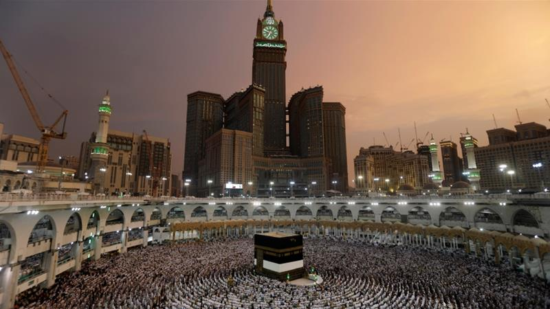 Mecca is a bustling city and the birthplace of Islam.