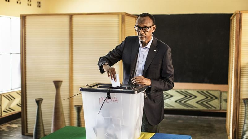 Rwanda votes in parliamentary elections