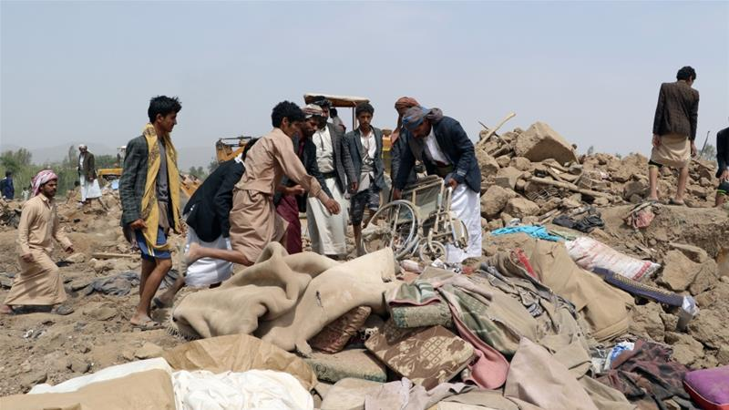 Civilian Casualty Count in Saudi-Led Coalition Airstrikes in Yemen Totals 71