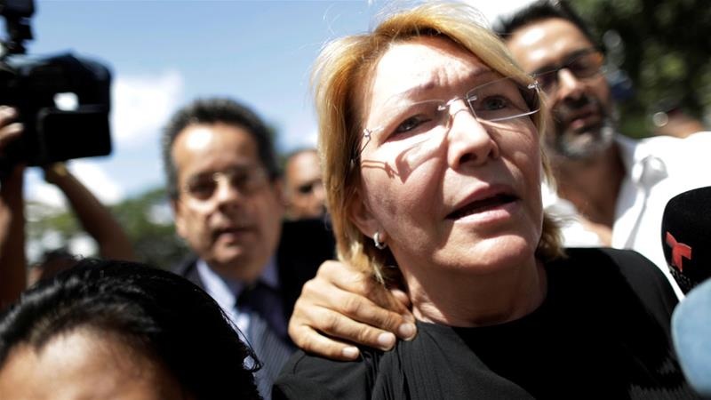 Luisa Ortega Fearing For Her Life Flees To Colombia