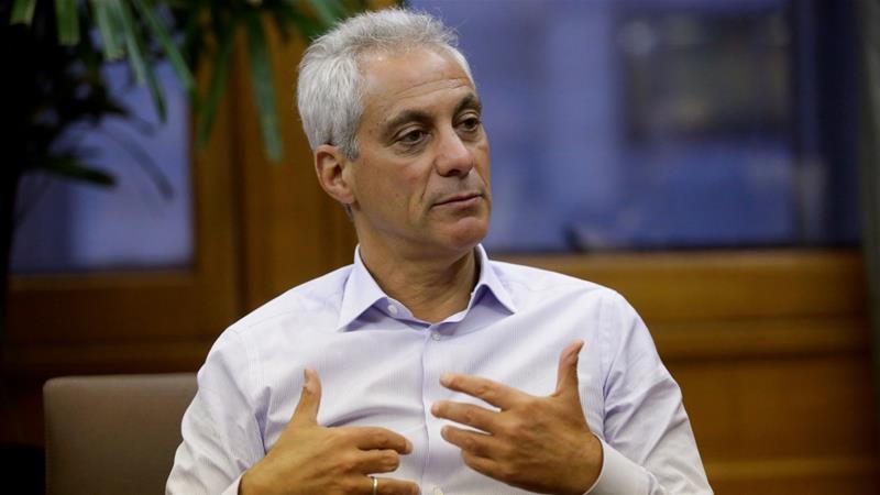 Emanuel said Chicago won't