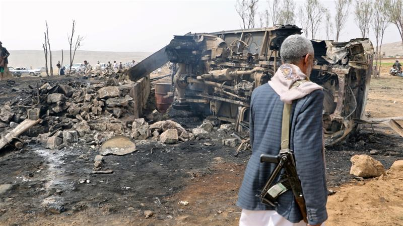 Saudi-led coalition denies targeting family home in Yemen