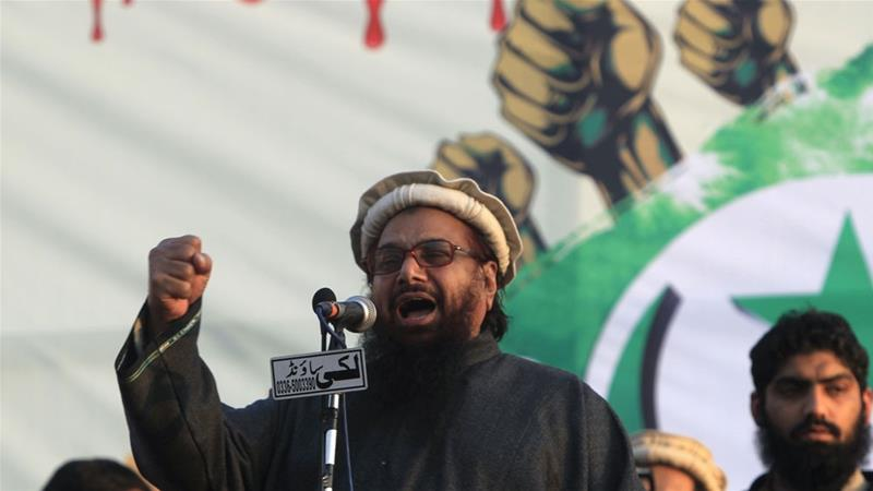 The US has offered a $10m bounty on Hafiz Saeed's head since 2012 [Reuters]