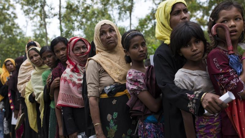 Rohingya in Australia hold protest to call for action over Myanmar violence