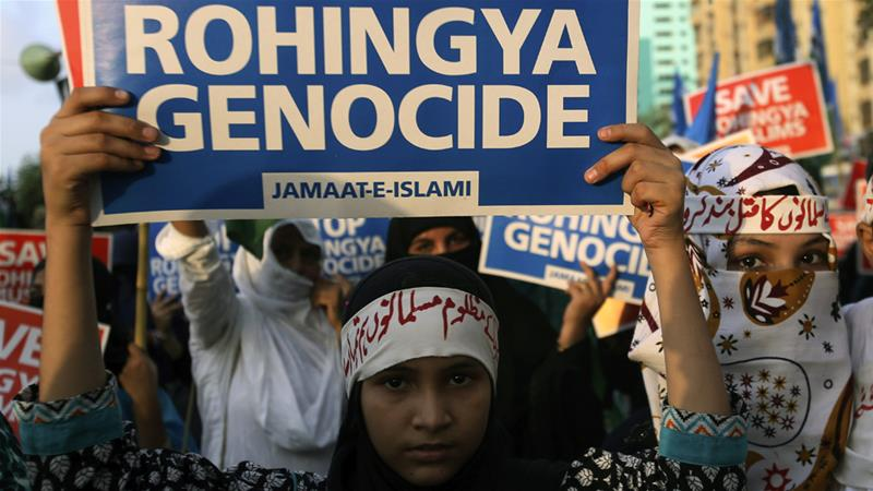 U.S.  position on Rohingyas