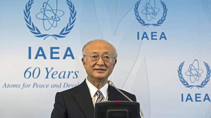 United Nations atomic chief says Iran meeting terms of nuclear deal