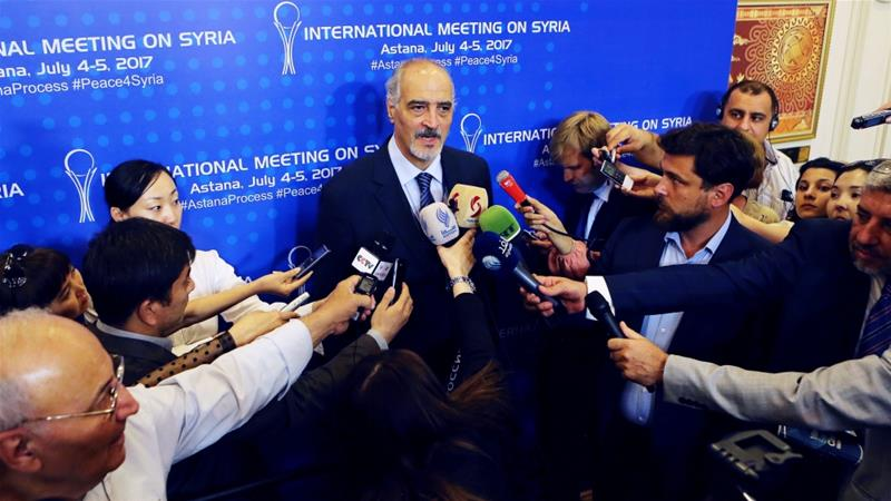 Bashar al-Jaafari blames Saudis, UN for talks failure