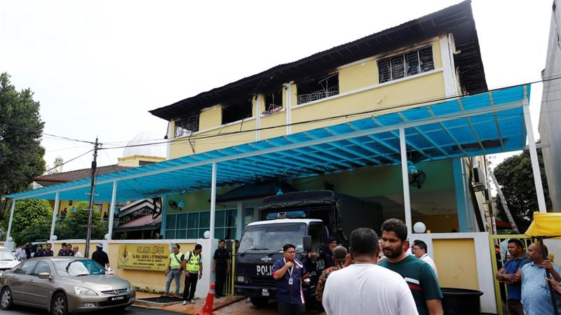 22 children die in religious school fire