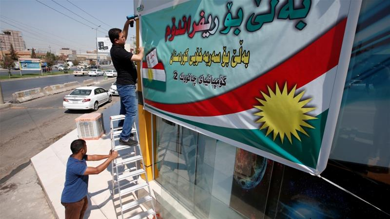 Washington has long supported Kurdish autonomy and has relied on the region's forces [Azad Lashkari/Reuters]