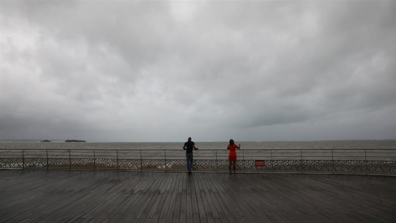 Rain, wind expected Tuesday as Jose approaches