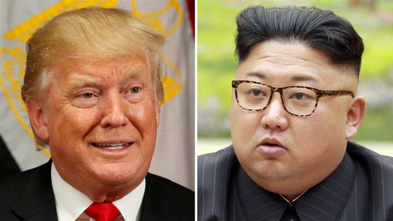 The war of words between Trump and Kim Jong-un has escalated recently [File photo/Reuters]
