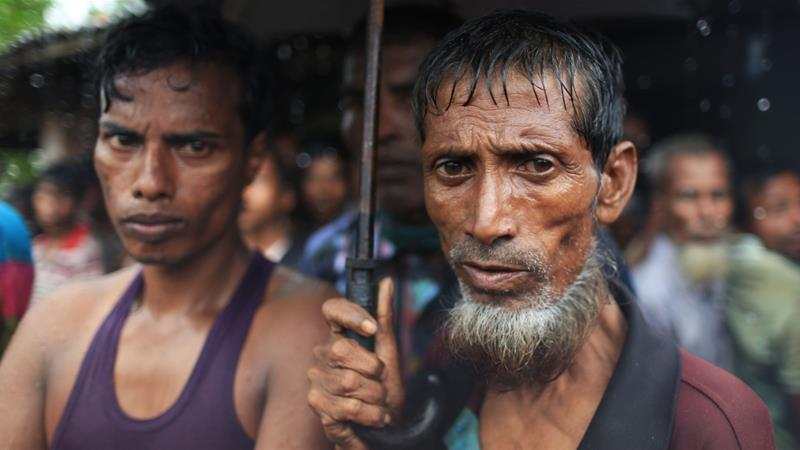 Rohingya refugees in Bangladesh who fled Myanmar after the August 2017 military crackdown [Showkat Shafi/Al Jazeera]