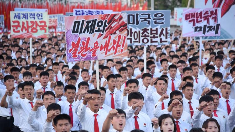 NK Workers' Party, military hold simultaneous rallies in support of leader's statement