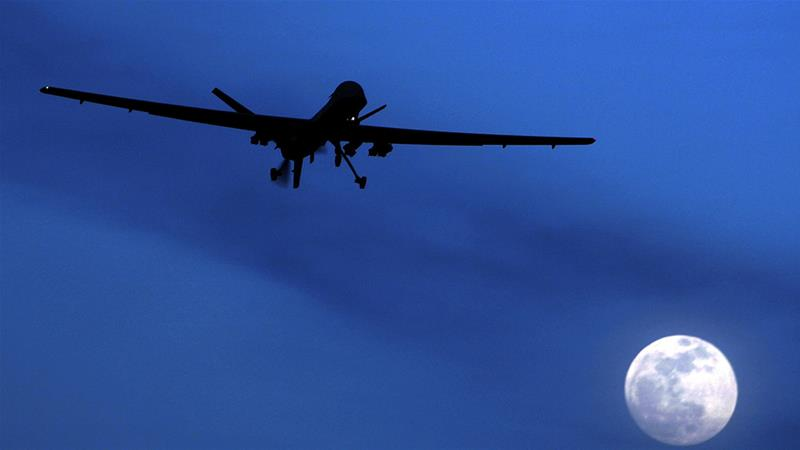 The Trump administration has reportedly moved to increase drone strikes in other countries [File: Kirsty Wigglesworth/AP]