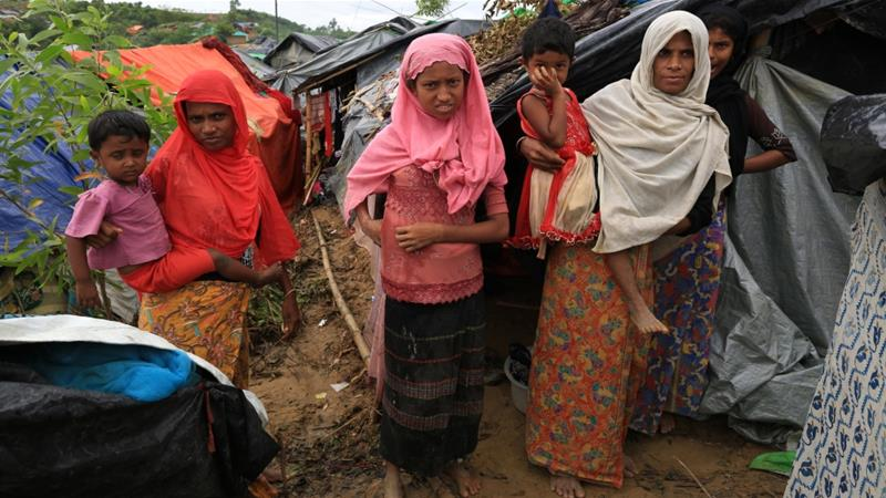 Rohingya refugees in Bangladesh live in crowded camps with little opportunity for jobs [Showkat Shafi/Al Jazeera]