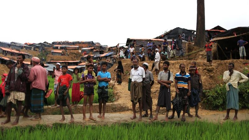 India, EU express 'deep concern' over Rohingya refugee crisis