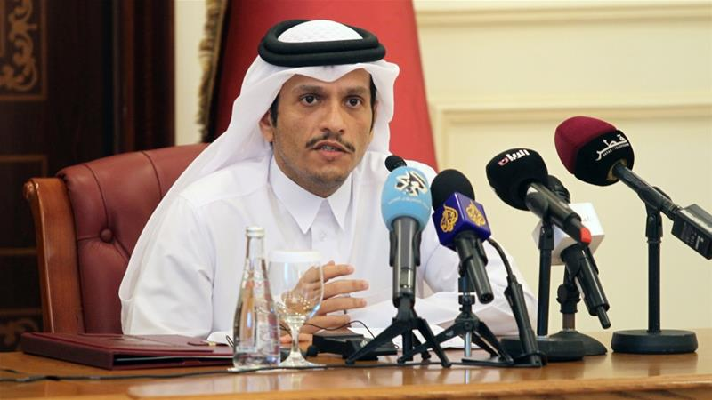 Reports: Qatari FM visited Riyadh in sign of easing GCC tensions
