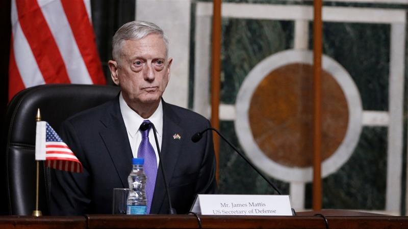 Mattis met with rockets in Kabul before Afghan talks
