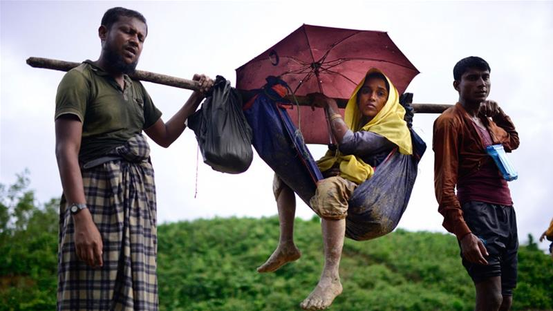 More than 400,000 Rohingya fled in recent weeks sparking a humanitarian crisis [Mahmud Hossaid Opu/Al Jazeera]
